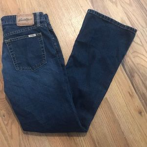 Levi's Stretch Lowrise Bootcut Jeans - Size 5
